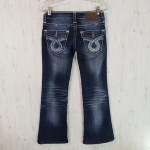 Big Star Sweet Boot Jeans Size 25 × 28 Low Rise